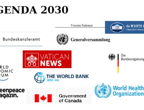 AGENDA 2030 ist keine Verschwörungstheorie