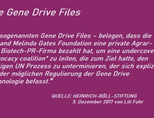 Die Gene Drive Files und was wir darüber wissen sollten