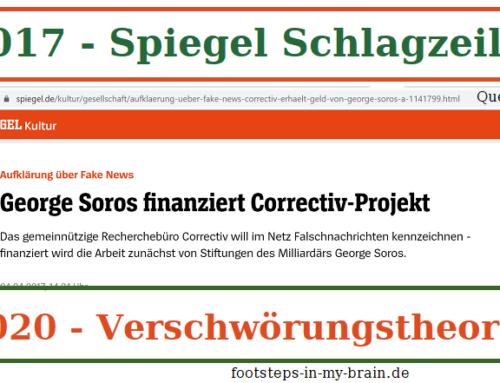 """George Soros finanziert Correctiv-Projekt"""