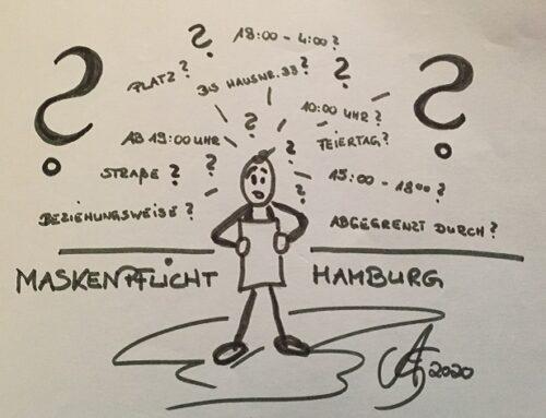 Maßnahmen in Hamburg – kurze Zusammenfassung – sonst OHNE WORTE